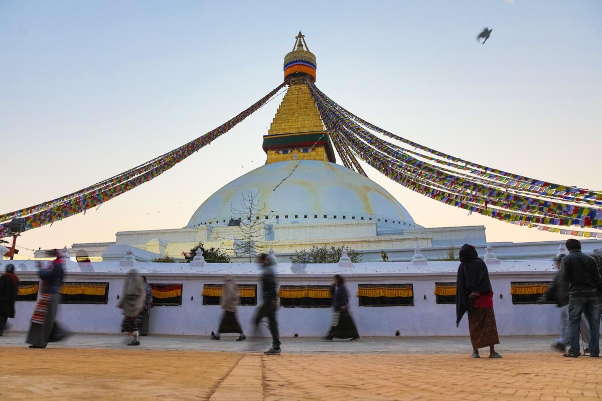 Boudhanath Stupa, HDR, long exposure, , Canon EOS 5D Mk4