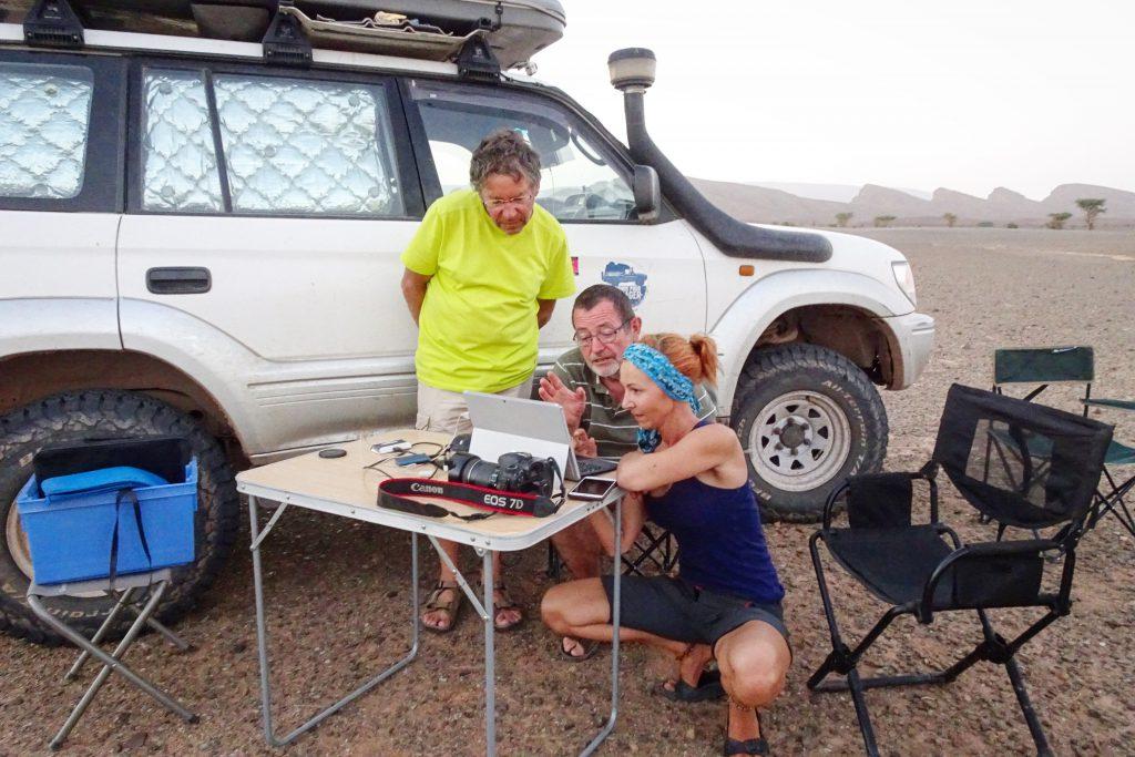 Ex Dakar route